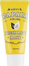 """Voňavky, Parfémy, kozmetika Čistiaca, rozjasňujúca pílingová maska """"Papája"""" - A'pieu Fresh Mate Mask"""