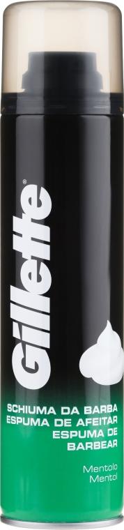 """Pena na holenie """"Menthol"""" - Gillette Menthol Shave Foam for Men"""