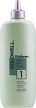 Voňavky, Parfémy, kozmetika Trvalá ondulácia pre normálne alebo tenké vlasy - Goldwell Topform 1
