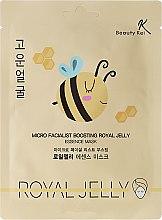 Voňavky, Parfémy, kozmetika Látková maska na tvár - Beauty Kei Micro Facialist Boosting Royal Jelly Essence Mask
