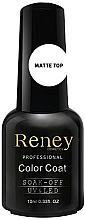 Voňavky, Parfémy, kozmetika Fixačný gélový lak matný - Reney Cosmetics Top Matte Velvet No Wipe