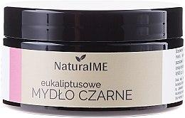 Voňavky, Parfémy, kozmetika Prírodné čierne mydlo s eukalyptom - NaturalME