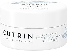 Voňavky, Parfémy, kozmetika Vosk so silnou fixáciou bez parfumácie - Cutrin Vieno Sensitive Styling Wax Strong