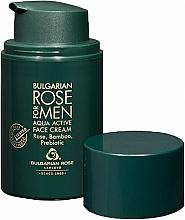 Voňavky, Parfémy, kozmetika Pánsky hydratačný krém - Bulgarian Rose For Men Aqua Active Face Cream
