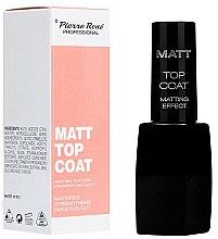Voňavky, Parfémy, kozmetika Matný vrchový náter - Pierre Rene Matt Top Coat Matting Effect