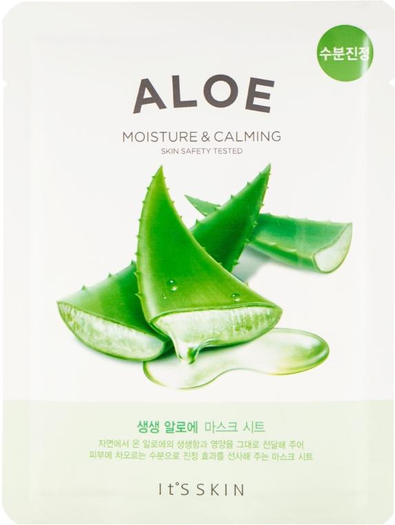 Textilná maska na tvár s aloe extraktom - It's Skin The Fresh Mask Sheet Aloe — Obrázky N1