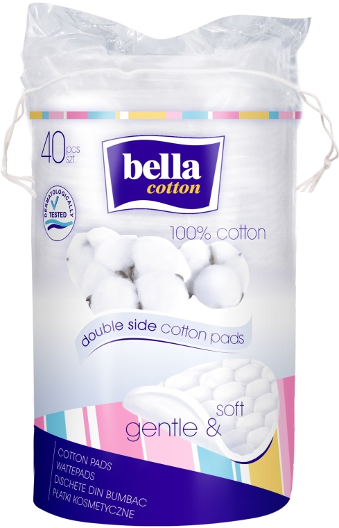 Vatové tampóny - Bella Cotton Duo-Wattepads