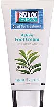 """Voňavky, Parfémy, kozmetika Krém na nohy """"Zelený čaj"""" - Saito Spa Active Foot Cream Green Tea"""