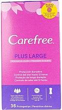 Voňavky, Parfémy, kozmetika Hygienické vložky, 36 ks. - Carefree Plus Large Maxi