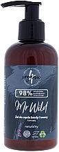 """Voňavky, Parfémy, kozmetika Čistiaci gél na tvár a bradu """"Káva"""" - 4Organic Mr Wild Coffee"""