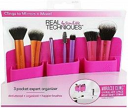 Voňavky, Parfémy, kozmetika Organizér na štetce, ružový - Real Techniques 3 Pocket Expert Organizer Pink