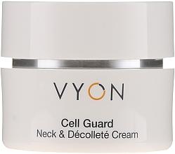 Voňavky, Parfémy, kozmetika Krém na krk a dekolt - Vyon Cell Guard Neck and Dekollete Cream