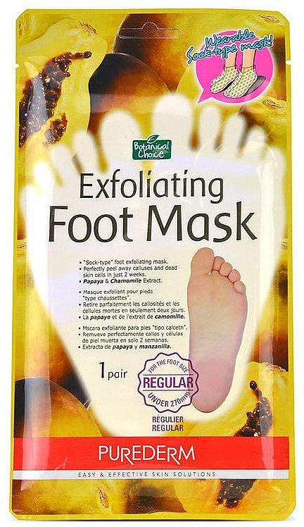 Peelingujúce ponožky na nohy - Purederm Exfoliating Foot Mask