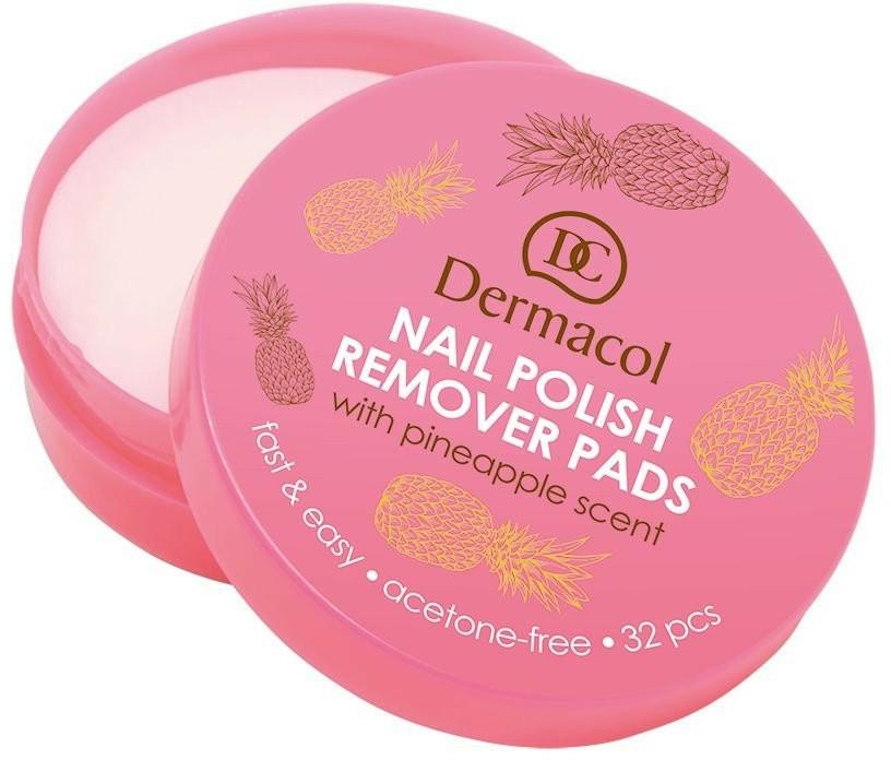 Servétky na odstránenie laku - Dermacol Nail Polish Remover Pads — Obrázky N1