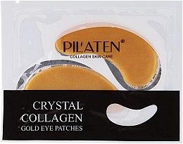 Voňavky, Parfémy, kozmetika Maska-náplasť na viečka s kolagénom - Pilaten Crystal Collagen Gold Eye Mask
