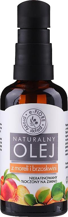 Marhuľový a broskyňový olej (s dávkovačom) - E-Fiore Natural Oil