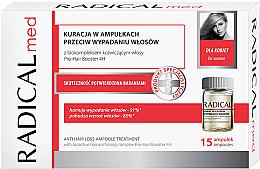 Voňavky, Parfémy, kozmetika Komplex v ampulkách proti vypadávaniu vlasov pre ženy - Radical Med Anti Hair Loss Ampoule Treatment For Woman