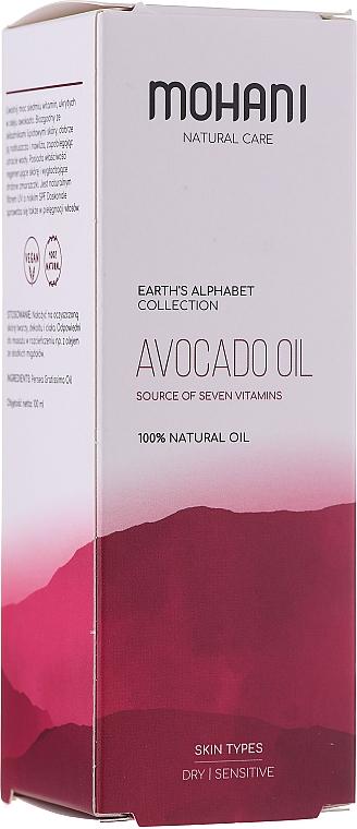 """Prírodný olej """"Avocado"""" - Mohani Avocado Oil"""