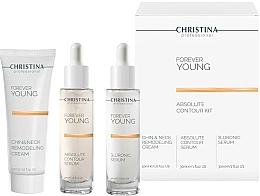 Voňavky, Parfémy, kozmetika Sada - Christina Forever Young (ser/30ml + ser/30ml + cr/50ml)