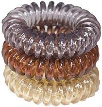 Voňavky, Parfémy, kozmetika Gumičky do vlasov, 3,5 cm - Ronney Professional S18 MET