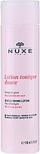 Voňavky, Parfémy, kozmetika Jemné tonizujúce mlieko s ružovými lístkami - Nuxe Gentle Toning Lotion With Rose Petals