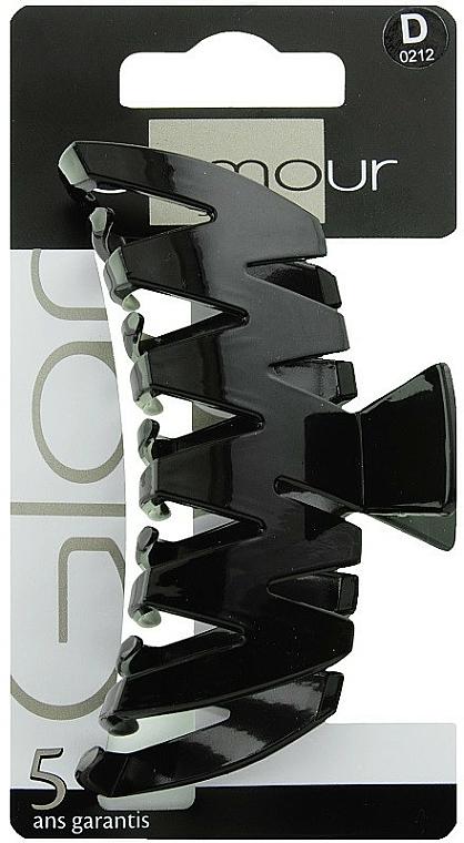 Štipec do vlasov, 0212, čierny - Glamour
