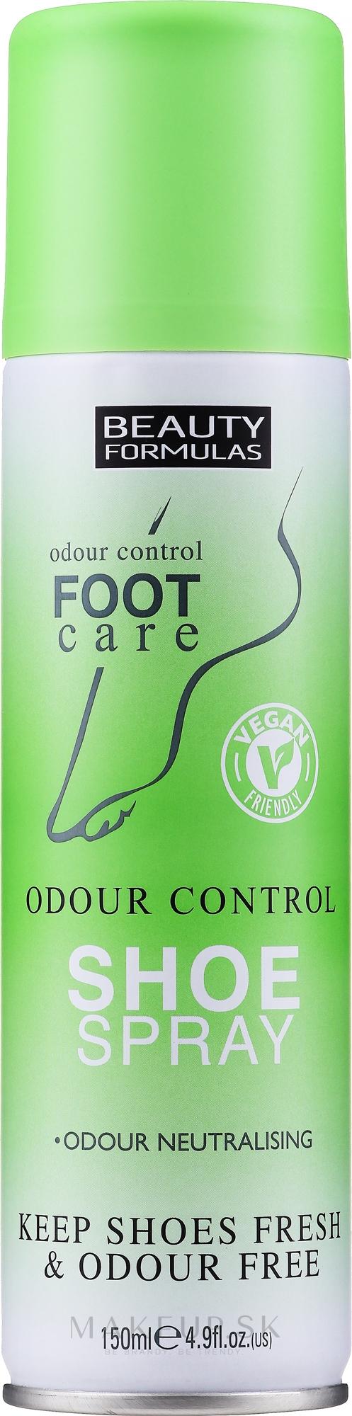 Deodorant na topánky - Beauty Formulas Shoe Odour Control Spray — Obrázky 150 ml
