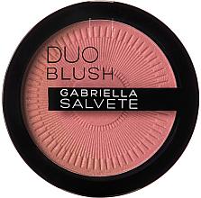 Voňavky, Parfémy, kozmetika Dvojitá lícenka - Gabriella Salvete Duo Blush