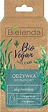 """Voňavky, Parfémy, kozmetika Starostlivosť o nechty """"Morské riasy"""" - Bielenda Bio Vegan Nail Care Sea Algae"""