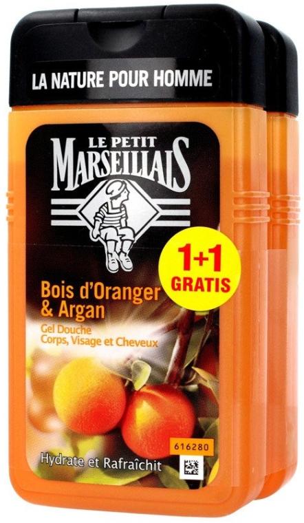 Sada - Le Petit Marseillais Orange Tree and Argan Shampoo Shower Gel (shm/gel/2x250ml)