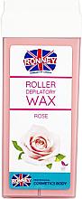 """Voňavky, Parfémy, kozmetika Vosk na depiláciu v kazete """"Ruže"""" - Ronney Wax Cartridge Rose"""