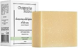 Voňavky, Parfémy, kozmetika Tuhý šampón s aloe vera - Christophe Robin Hydrating Shampoo Bar with Aloe Vera