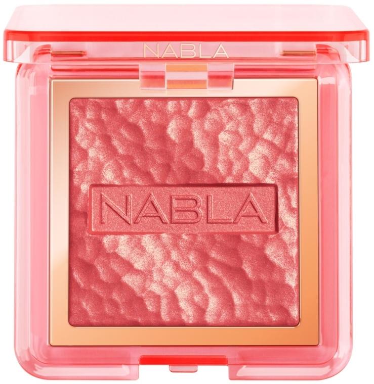 Lícenka na tvár - Nabla Miami Lights Collection Skin Glazing