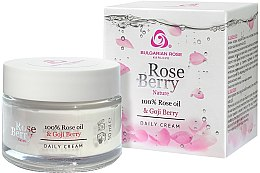 Voňavky, Parfémy, kozmetika Krém na tvár denný - Bulgarian Rose Rose Berry Nature Day Cream