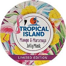 """Voňavky, Parfémy, kozmetika Maska na tvár """"Mango a mučenka"""" - Marion Tropical Island Mango & Maracuya Jelly Mask"""