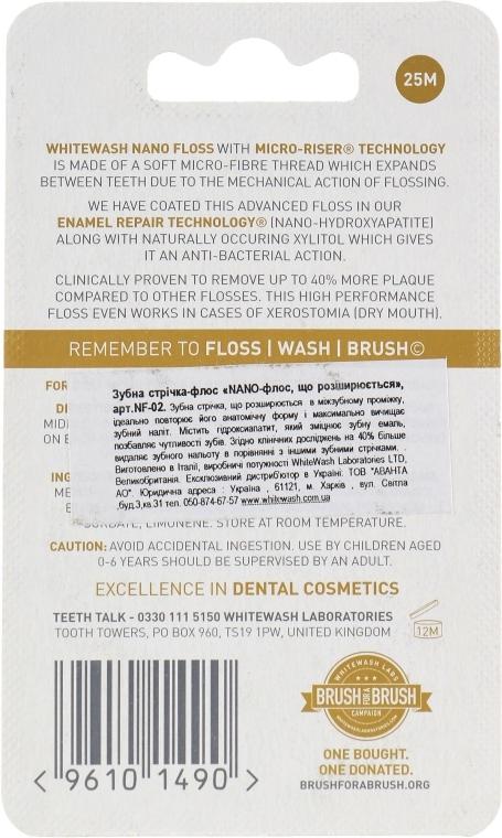 Zubná niť Nano Floss, rozširujúca - WhiteWash Laboratories — Obrázky N3