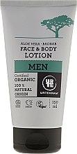 """Voňavky, Parfémy, kozmetika Mlieko pre tvár a telo """"Baobab a Aloe Vera"""" - Urtekram Men Aloe Vera Baobab Face & Body Lotion"""