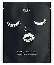 Voňavky, Parfémy, kozmetika Bublinová uhlíková tvarová maska - Pibu Beauty Bubbling Charcoal Mask