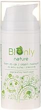 Voňavky, Parfémy, kozmetika Regeneračný krém na ruky s makovým olejom - BIOnly Nature Regenerating Hand Cream