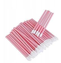 Voňavky, Parfémy, kozmetika Velúrové aplikátory na mihalnice, obočie a pery, ružové - Lewer