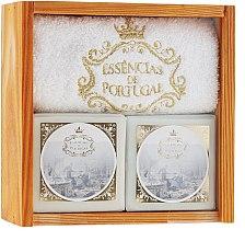 Voňavky, Parfémy, kozmetika Sada - Essencias De Portugal Senses Wooden Box (soap/2x200g + towel)