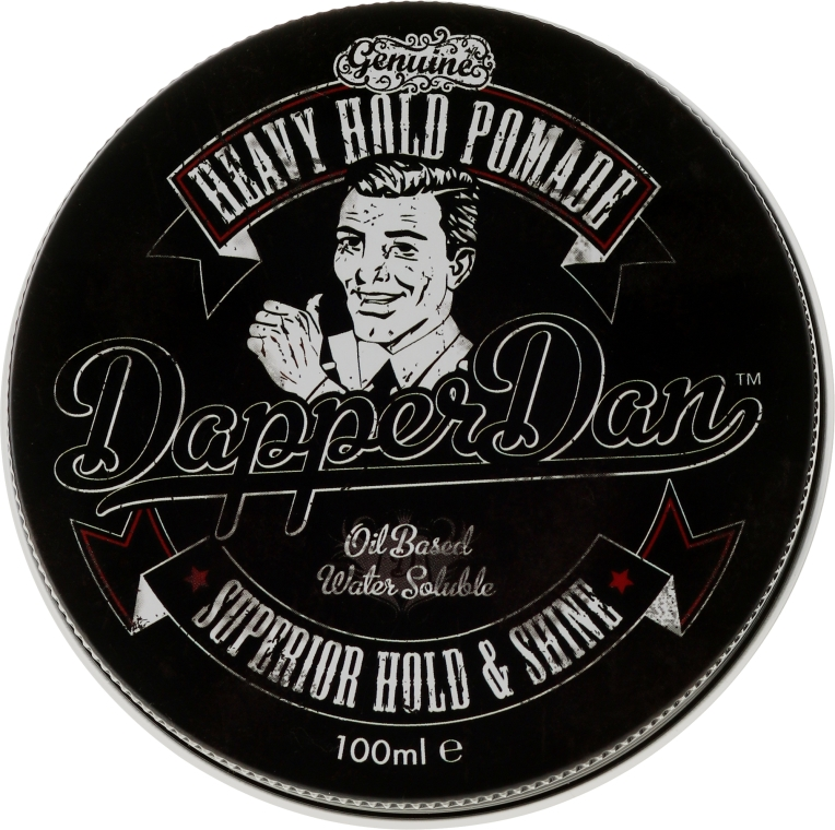 Vosková pomáda na styling vlasov - Dapper Dan Heavy Hold Pomade