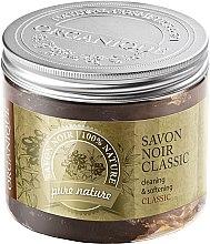 Voňavky, Parfémy, kozmetika Prírodné olivové mydlo - Organique Savon Noir Cleaning&Softening