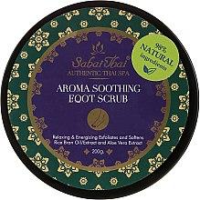 Voňavky, Parfémy, kozmetika Peeling na nohy s olejom z ryžových otrúb a aloe vera - Sabai Thai Rice Milk Aroma Soothing Foot Scrub