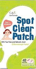 Voňavky, Parfémy, kozmetika Mini náplasti pre problematickú pleť - Cettua Spot Clear Patch