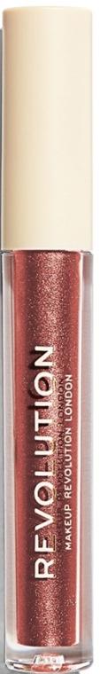 Tekutá rúž na pery - Makeup Revolution Nudes Collection Metallic Liquid Lipstick — Obrázky N1
