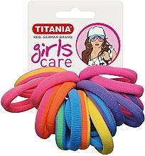 Voňavky, Parfémy, kozmetika Gumičky do vlasov, 16 ks, viacfarebné - Titania Girls Care