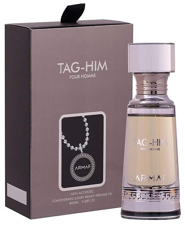 Armaf Tag Him Pour Homme Non Alcoholic Perfume Oil - Parfumovaný olej — Obrázky N1