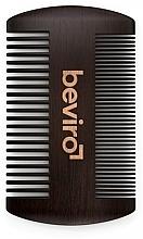Voňavky, Parfémy, kozmetika Kefa na bradu - Beviro Pear Wood Beard Comb