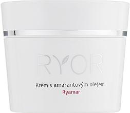 Voňavky, Parfémy, kozmetika Krém s amarantovým olejom pre veľmi citlivú pokožku - Ryor Ryamar